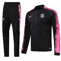 Спортивный костюм ПСЖ на длинной змейке (Тренировочный клубный костюм PSG)+Горловик в подарок!