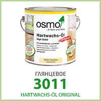 Паркетное масло Osmo Hartwachs-Öl Original 3011 глянец 0,375 л