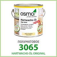 Паркетное масло Osmo Hartwachs-Öl Original 3065 полуматовое 0,375 л
