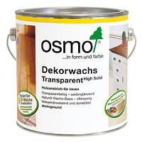 Универсальное цветное масло Osmo Dekorwachs Transparent 3111 белое 0,75 л