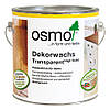 Универсальное цветное масло Osmo Dekorwachs Transparent 3168 дуб антик 0,75 л