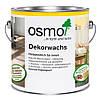Универсальное цветное масло Osmo Dekorwachs Intensive tone 3169 чёрное 0,125 л