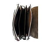 082b86d1a4e9 ... Мужская сумка через плечо кожаная Karya 0811-39 мессенджер коричневый,  фото 6