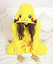 Кигуруми покемон пикачу желтый  K0013, фото 6