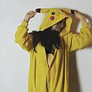 Кигуруми покемон пикачу желтый  K0013, фото 7
