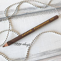 Пудровый карандаш для бровей без щеточки (блонд) LaCordi