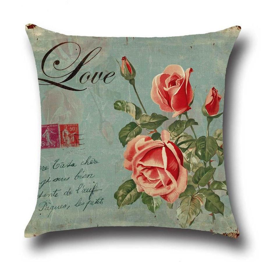Подушка декоративная Цветок любви 45 х 45 см Berni