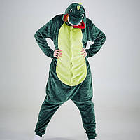 Зеленый дракон кигуруми для взрослых K0025
