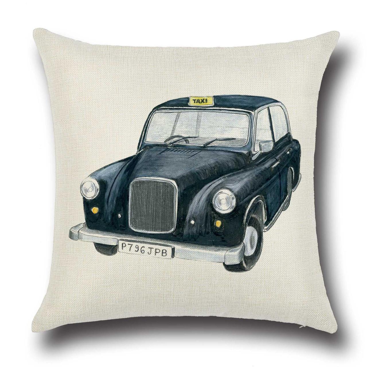 Подушка декоративная Такси из Лондона 45 х 45 см Berni