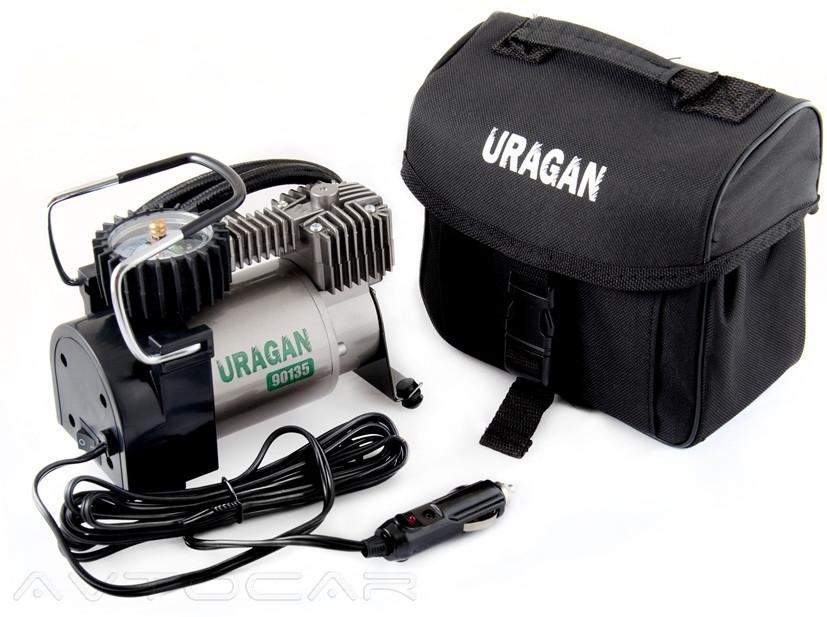 Компрессор автомобильный URAGAN 90135 37 л/мин