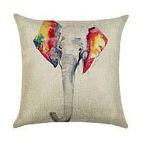 Подушка декоративная Слон 45 х 45 см Berni, фото 1