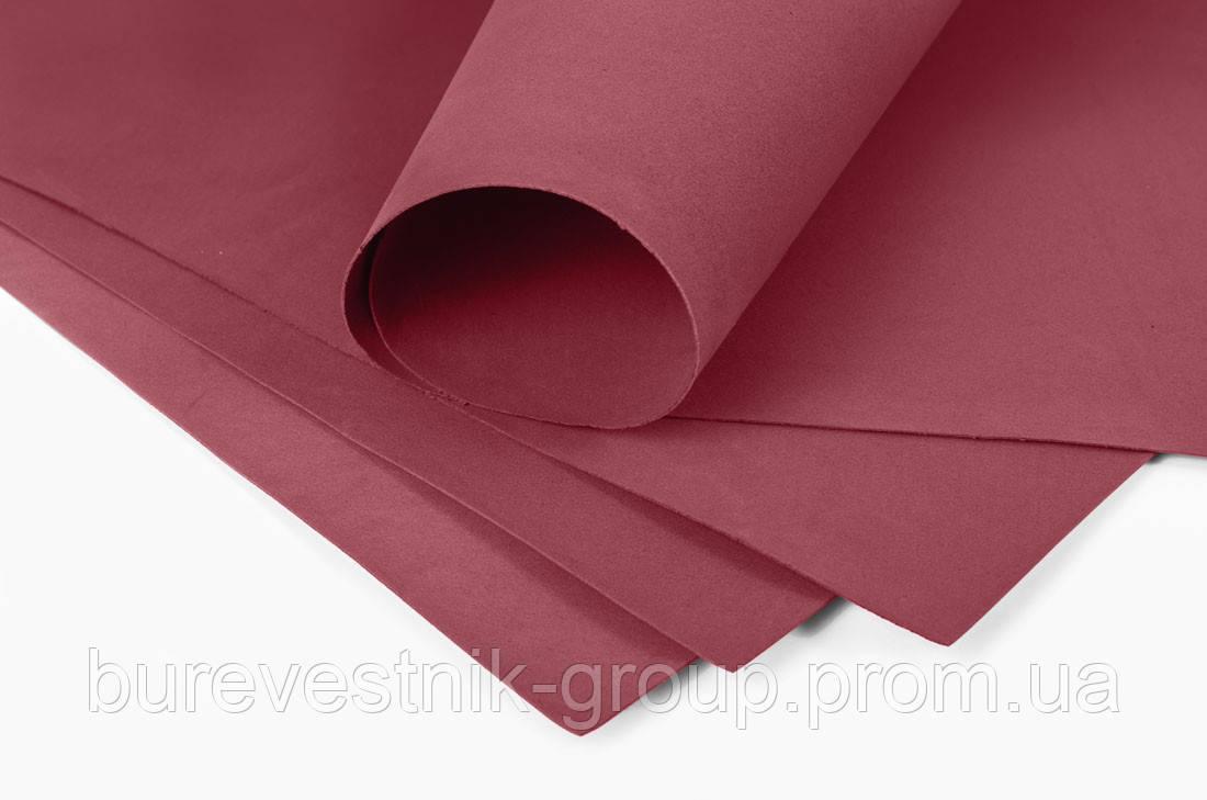 Фоамиран ( foamiran ) Santi 60*70см, темно-красный