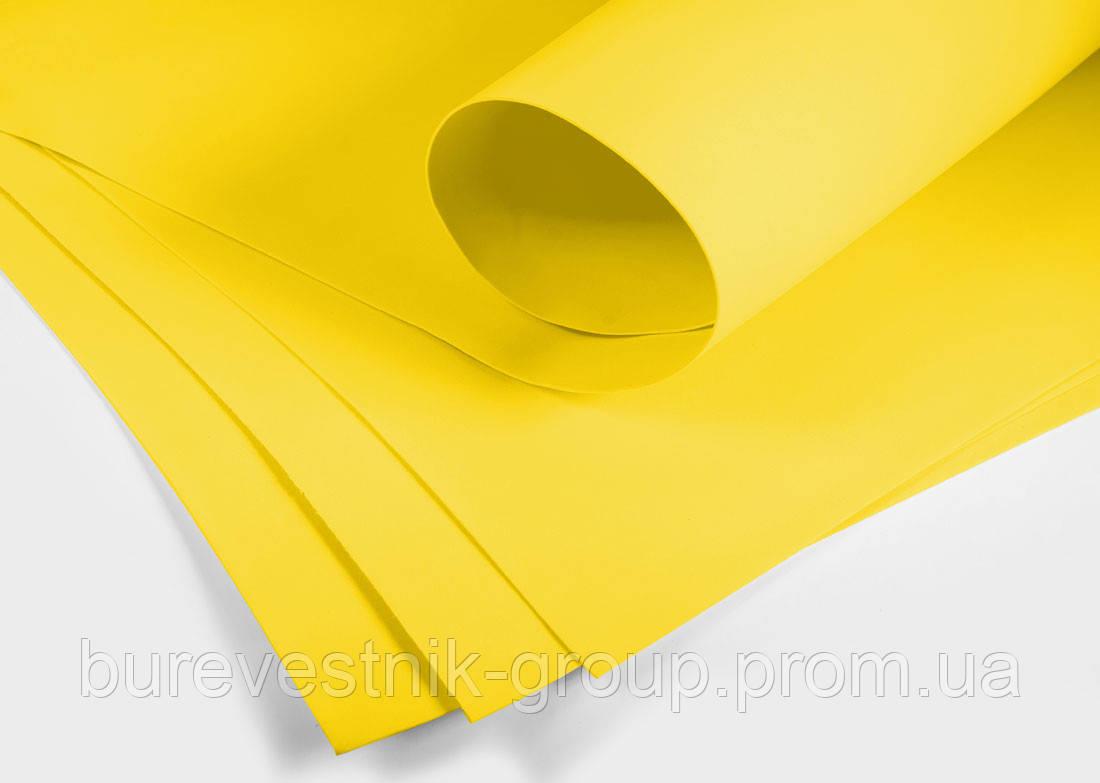 Фоамиран ( foamiran ) Santi 60*70см, темно-желтый