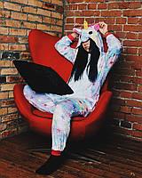 Кигуруми пижамма единорог звездный для взрослых K0016