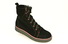Подростковые ботинки на мальчика замшевые демисезонные