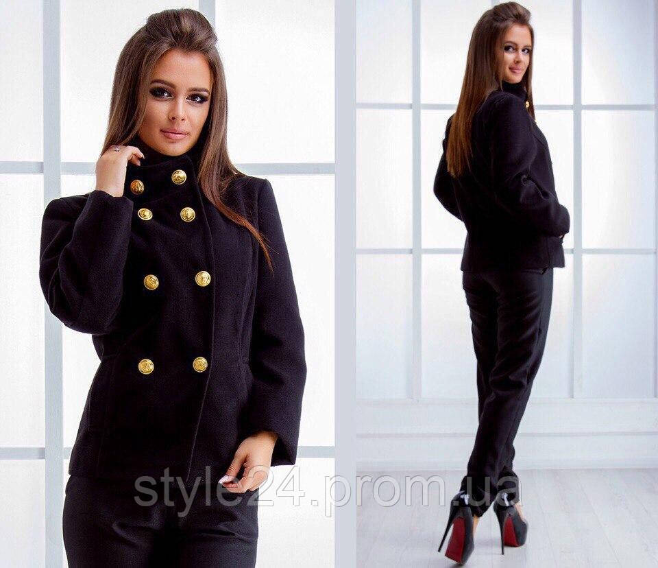 Жіноче кашемірове коротке пальто на підкладці .Р-ри 42-46   продажа ... 9b3062762259c