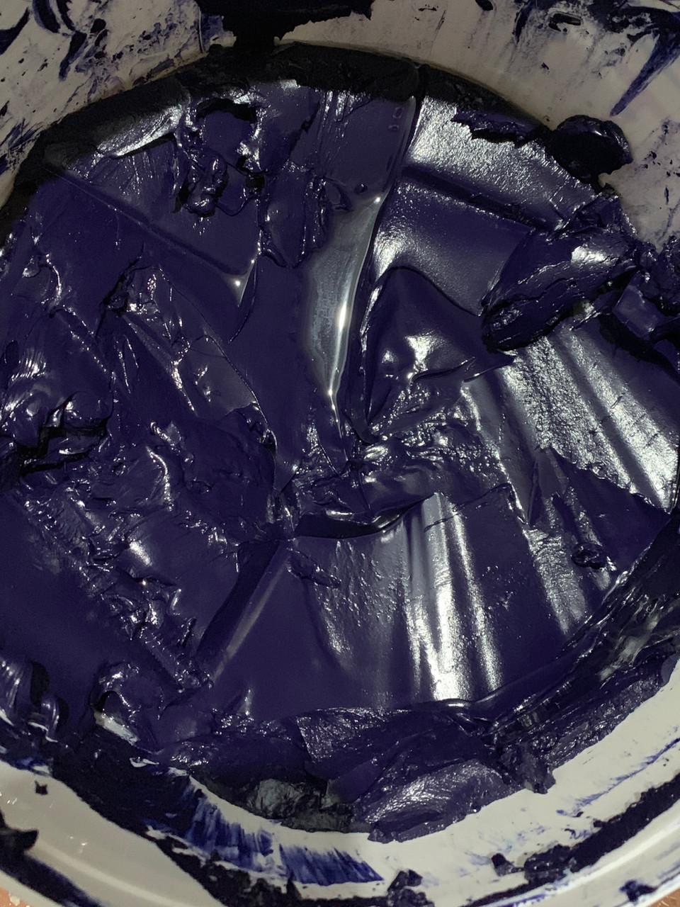Краска пластизольная синяя Navy Blue 62