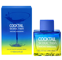 Мужская туалетная вода Cocktail Seduction Blue for Men Antonio Banderas AAT