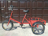 Велосипед трехколесный грузовой для дачи «Пекин»