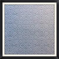 """Силиконовый текстурный коврик """"Цветочки"""" 60 см на 39,5 см"""