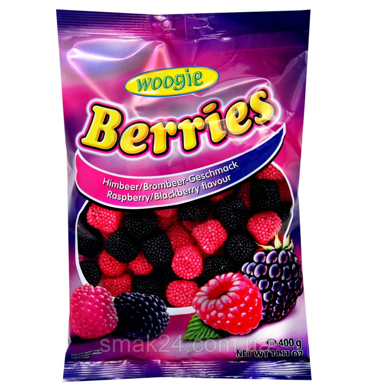 Желейні цукерки Berries (малинки) Woogie Австрія 400г