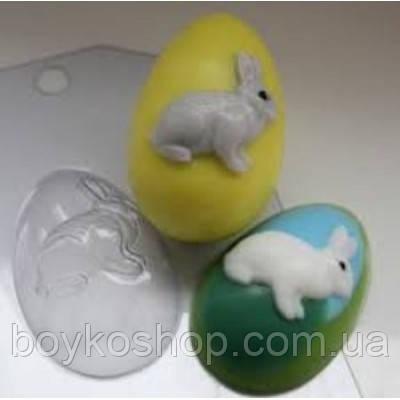 Форма для мыла Яйцо с кроликом