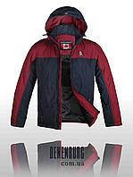 Куртка чоловіча демісезонна CANADIENS 53-01 синьо-червона