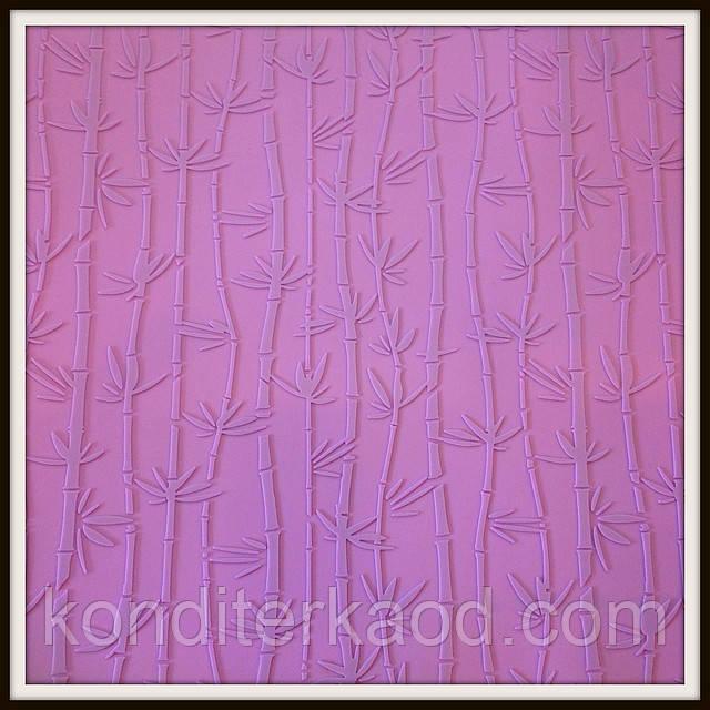"""Силиконовый текстурный коврик """"Бамбук"""" 57,5см на 38см"""