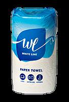 Бумажные полотенца целлюлоза Jumbo (Джамбо) 1 рулон ТМ White Line Украина