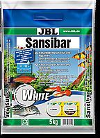 JBL Sansibar WHITE мелкий белый грунт для пресноводных и морских аквариумов 5 кг