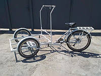 Велосипед трехколесный грузовой «Кофейный»  велосипед для уличной торговли