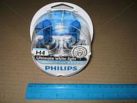 Лампа накаливания H4 12V 60/55W P43t-38 Diamond Vision 5000K (пр-во Philips)