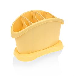 Сушилка для столовых приборов овальная 20х14х10см