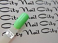 Мятный гель лак CityNail 570 ( зеленый, салатовый )