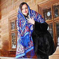 Павлопосадский палантин (шарф), фото 1