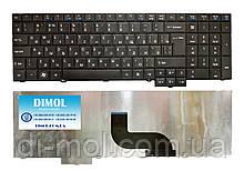 Оригінальна клавіатура для ноутбука Acer TravelMate 5360, 5760, 7750Z, 8573, ru, Black