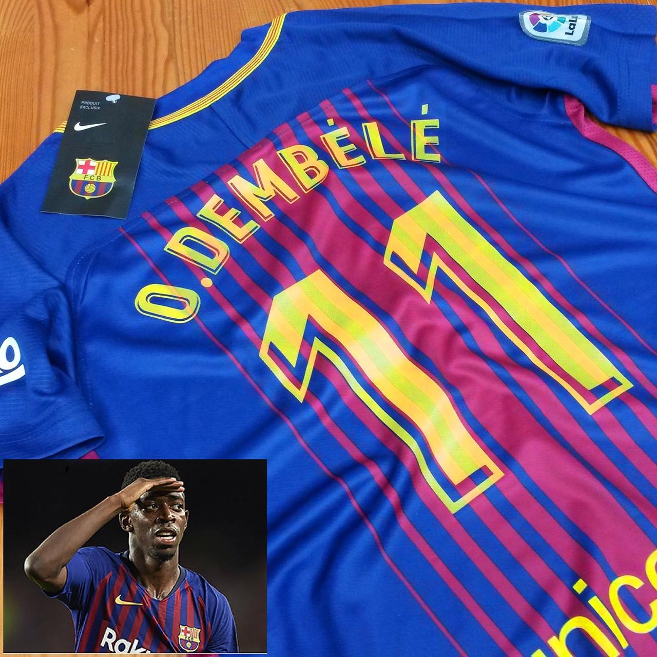 Детская футбольная форма Барселона  (№11 Усман Дембеле)