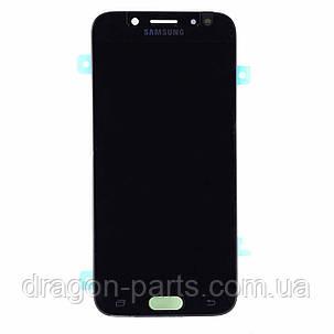 Дисплей Samsung J530 Galaxy J5 2017 с сенсором Черный Black оригинал , GH97-20738A, фото 2