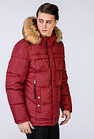 Пуховик-Куртка зимняя мужская Джереми .ЦВЕТА!- марсалла №717