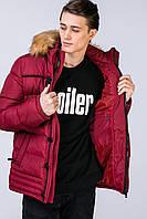 Оригинальная зимняя куртка -пуховик мужская очень теплая. ЦВЕТА!