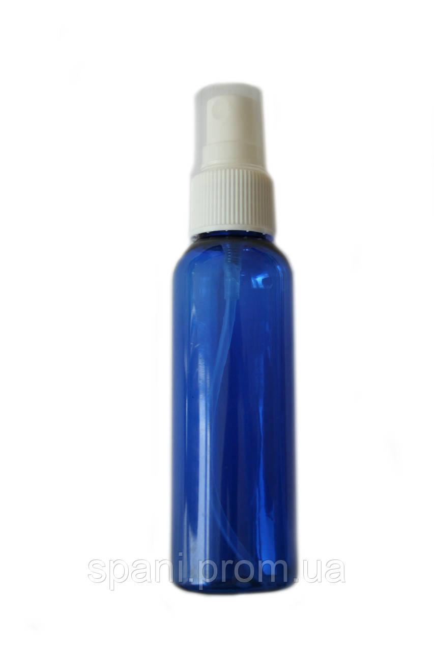 Пляшечка з розпилювачем 60 мл, синя