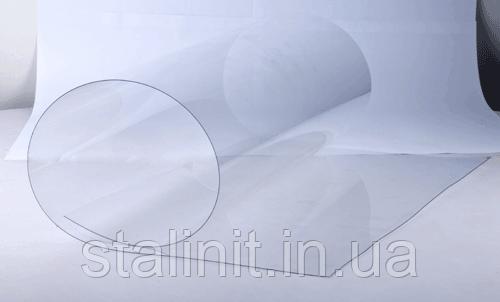 Жёсткий прозрачный ПВХ пластик