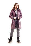 Элегантное подростковое пальто для девочки. Размеры 146, 152, 158, 164
