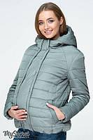 Демисезонная короткая куртка для беременных , фото 1