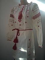 Отиличное платье, ткань - лён, вышито качественной польской нитью