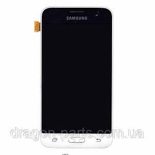 Дисплей Samsung J120 Galaxy J1 с сенсором Белый White оригинал , GH97-18224A, фото 2