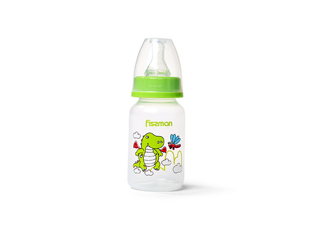 Бутылка детская для воды 6х15см/120мл из пластика Fissman