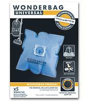 Оригинал. Набор мешков (5 шт) Wonderbag Classic + адаптер для пылесоса Rowenta код WB406140