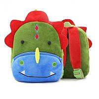 Рюкзак велюровый Динозавр Berni, фото 1