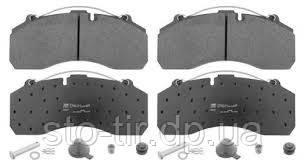 Колодки тормозные Daf / Scania / Mersedes Benz / Scania / BPW / Saf /Knorr 29108